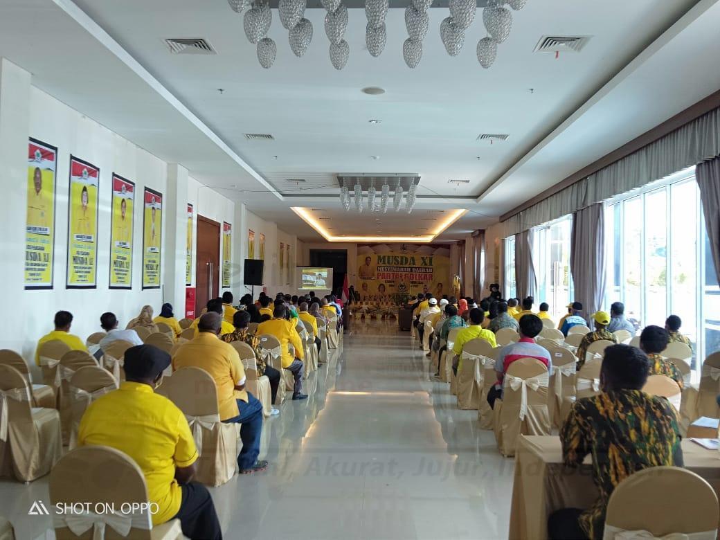 Melangkah 2 Periode, Jhony Kamuru Berhasil Duduki Kursi Ketua DPD Golkar Kabupaten Sorong 4 IMG 20210917 WA0052