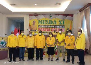 Melangkah 2 Periode, Jhony Kamuru Berhasil Duduki Kursi Ketua DPD Golkar Kabupaten Sorong 13 IMG 20210917 WA0055
