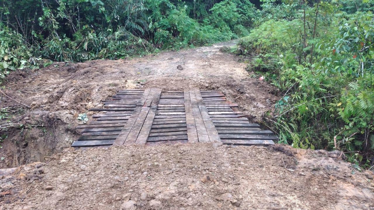 Lampaui Target, TNI - Polri Selesaikan Pembangunan Jembatan di Kampung Fakario Maybrat 4 IMG 20210918 WA0069