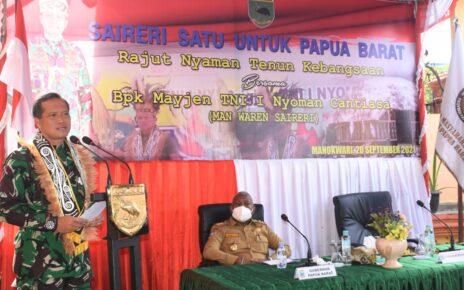 Pangdam XVIII/Kasuari: Bersama Kita Bangun Tanah Papua Penuh Kedamaian 7 IMG 20210920 WA0057