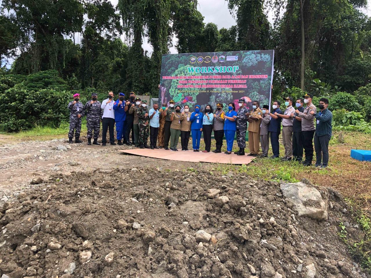 Jaga Alam, BBKSDA Gandeng Koarmada 3 Dan Stakeholder Lepas 37 Satwa Endemik di Hutan Katapop 6 IMG 20210928 WA0055
