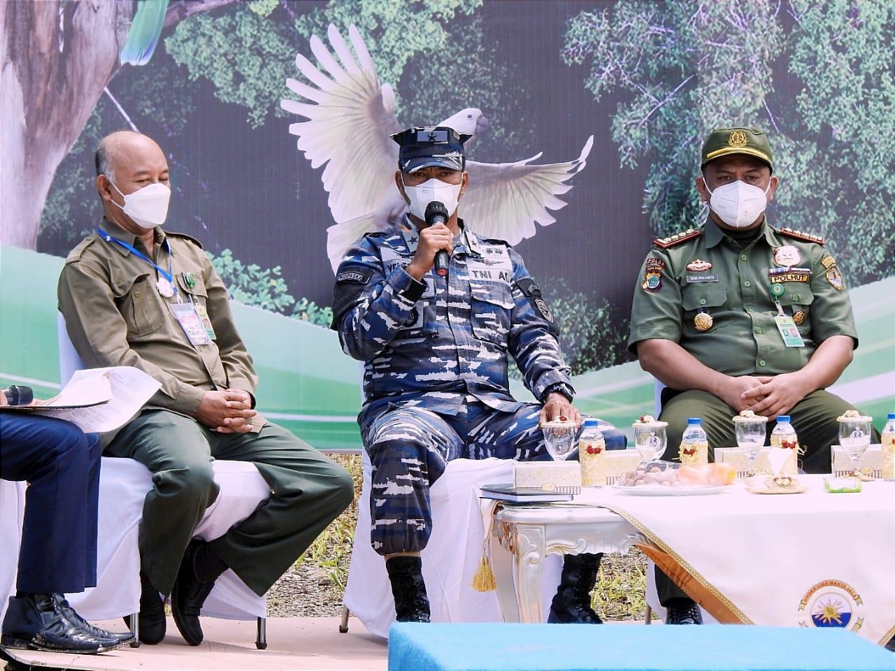 Jaga Alam, BBKSDA Gandeng Koarmada 3 Dan Stakeholder Lepas 37 Satwa Endemik di Hutan Katapop 5 IMG 20210928 WA0057