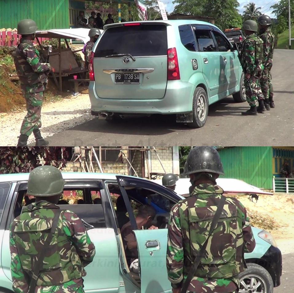 Pasca Penyerangan Posramil Kisor, Aparat Perketat Keamanan Kawasan Maybrat 4 IMG 20210910 1