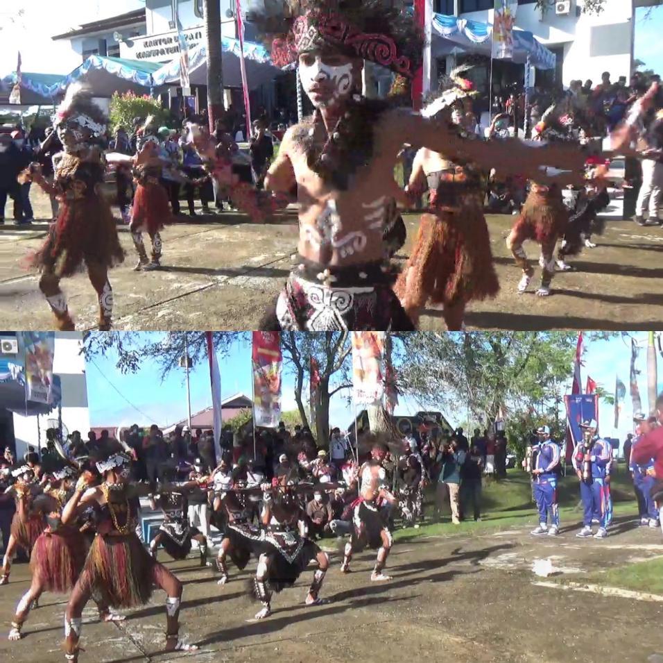 Dari Sorong Papua Barat, Obor PON XX Diberangkatkan Menuju Papua 4 IMG 20210927 2