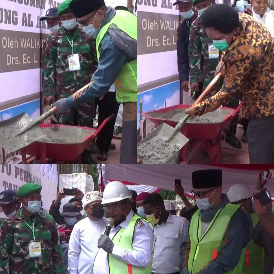 Selain Termegah di Papua Barat, Walikota Sorong Sebut Masjid Raya Al-Akbar Akan Jadi Ikon 4 IMG 20210929 2