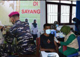 Mahasiswa Dan Pelajar Sorong Jadi Target Serbuan Vaksinasi Maritim Korps Marinir TNI AL 16 Screenshot 20210923 192506 Photo Wonder