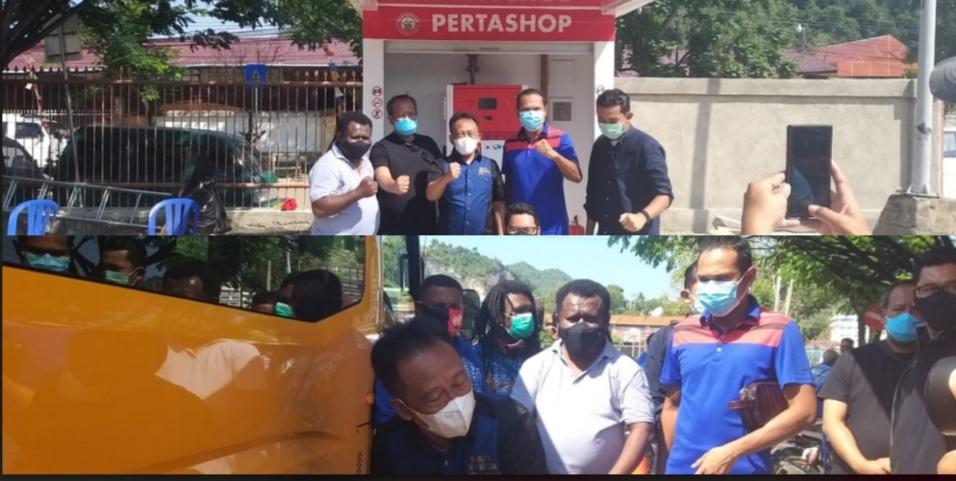 Bentuk Nyata Dukung PON XX, Pertamina Tambah 2 Pertashop, 8 SPBU di Jayapura 7 Screenshot 20210926 131918 Photo Wonder