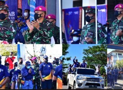 Komandan Pasmar 3 Ikuti Pelepasan Kirab API PON XX Papua 8 Screenshot 20210927 201152 Photo Wonder