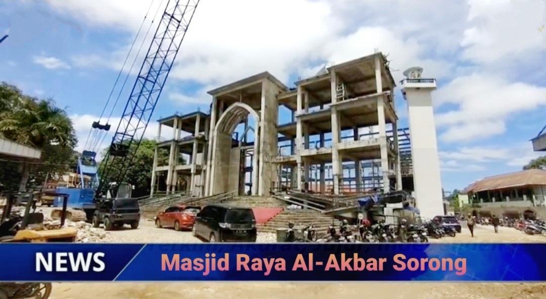 Selain Termegah di Papua Barat, Walikota Sorong Sebut Masjid Raya Al-Akbar Akan Jadi Ikon 1 Screenshot 20210929 182659 Gallery