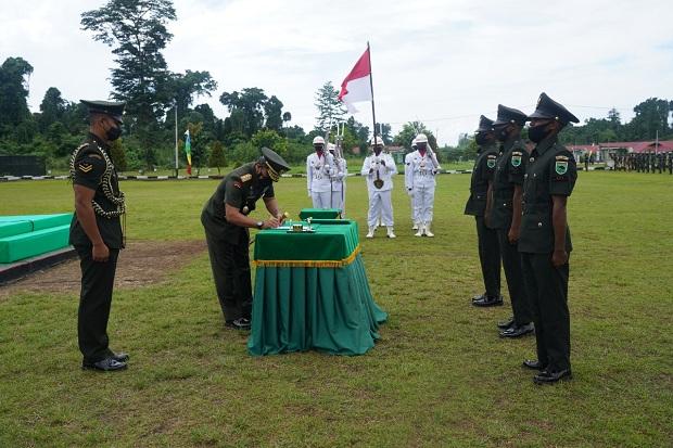 Pangdam XVIII Kasuari Tutup Dikmata TNI AD Gelombang Pertama 2021 1 pangdam xviiikasuari tutup dikmata tni ad gelombang pertama ta 2021 pdi