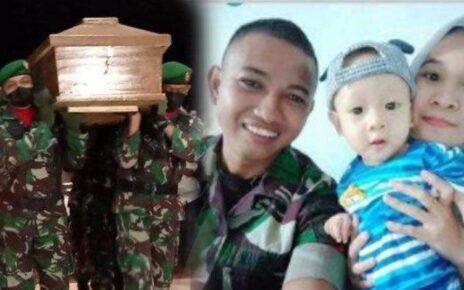 Gugur di Kisor Maybrat, Praka Dirham Tinggalkan Anak Usia 2 Tahun 5 praka muhammad dirhamsyah
