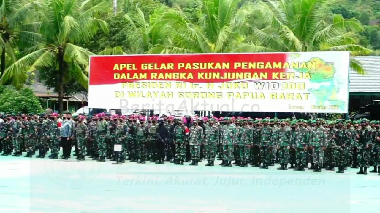 Usai Buka PON XX Presiden Kunjungi Sorong, 900 Personel Gabungan Disiagakan 4 IMG 20211002 WA0036