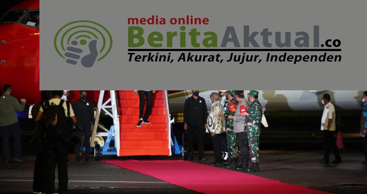 Tiba di Sorong, Presiden Bersama Rombongan Disambut Gubernur Dan Pangdam XVIII/Kasuari 1 IMG 20211003 WA0061
