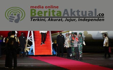 Tiba di Sorong, Presiden Bersama Rombongan Disambut Gubernur Dan Pangdam XVIII/Kasuari 4 IMG 20211003 WA0061