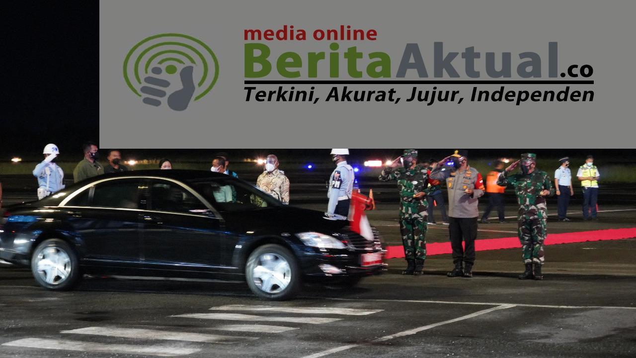 Tiba di Sorong, Presiden Bersama Rombongan Disambut Gubernur Dan Pangdam XVIII/Kasuari 4 IMG 20211003 WA0065