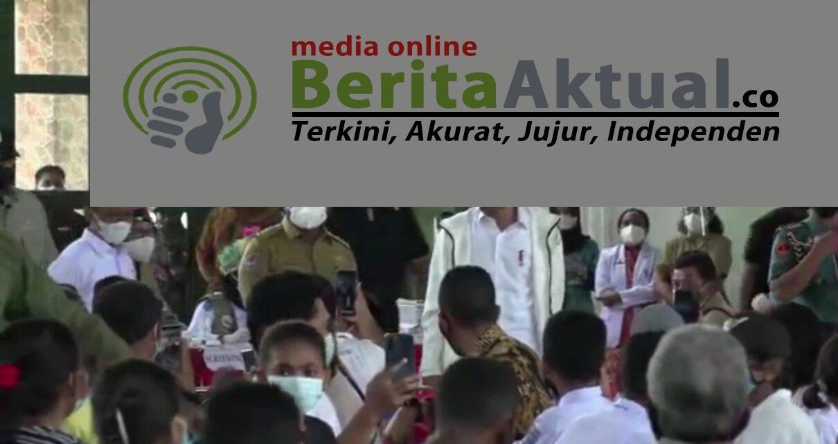 Presiden Jokowi Apresiasi Banyak Warga Kota Sorong Mau Divaksin Hari Ini 1 IMG 20211004 WA0042