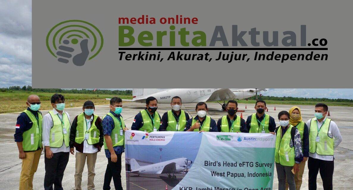 Pertama di Asia, Pesawat Berteknologi eFTG Telah Ada di Sorong Untuk Survei Wilayah Migas Kepala Burung 1 IMG 20211008 WA0047