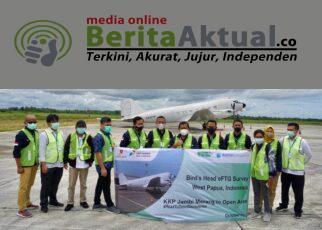 Pertama di Asia, Pesawat Berteknologi eFTG Telah Ada di Sorong Untuk Survei Wilayah Migas Kepala Burung 23 IMG 20211008 WA0047