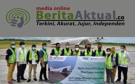 Pertama di Asia, Pesawat Berteknologi eFTG Telah Ada di Sorong Untuk Survei Wilayah Migas Kepala Burung 3 IMG 20211008 WA0047