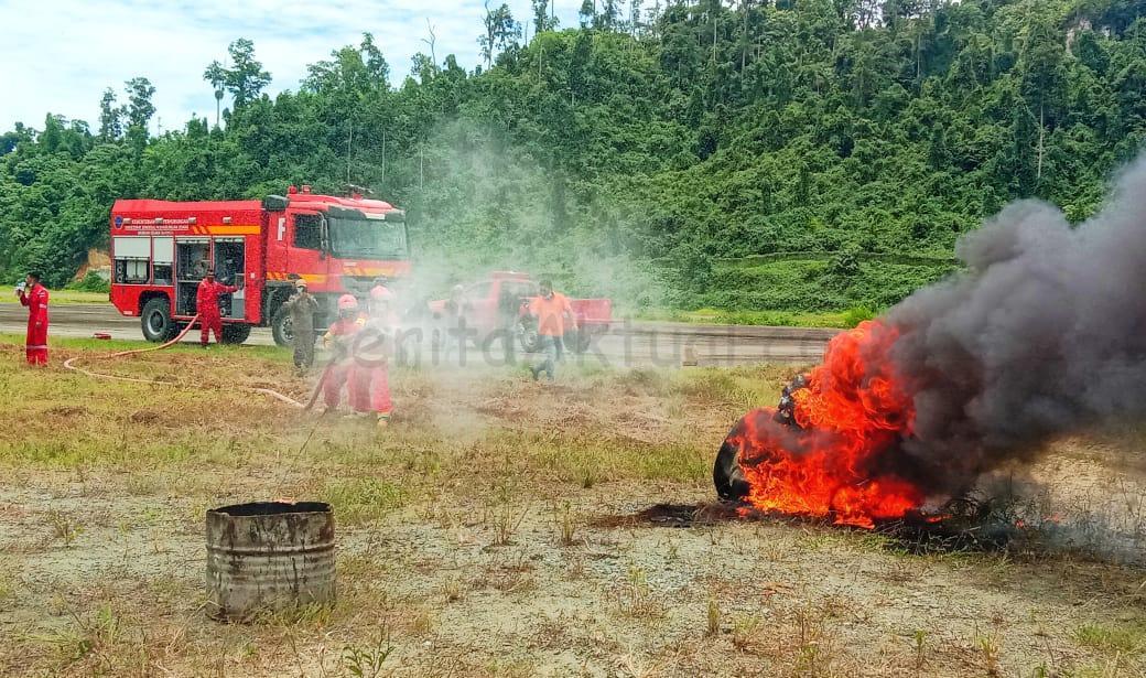 Tingkatkan Kemampuan Atasi Kebakaran, BPBD R4 Gelar Simulasi 2 IMG 20211008 WA0049